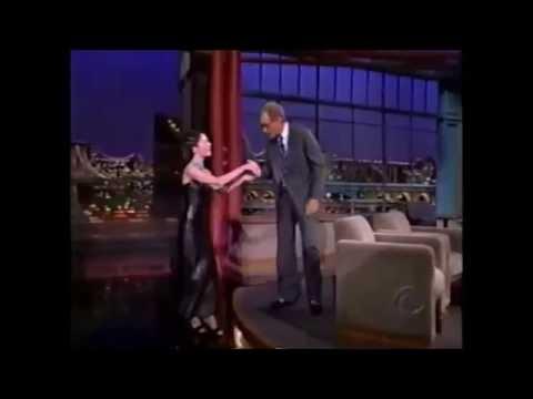 Hand kiss -Lara Flynn Boyle