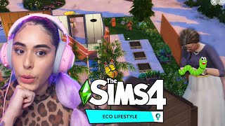 Making a Community Garden in The Sims 4 Eco Lifestyle