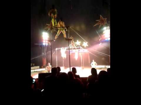zippos circus falkirk  2/7/13 video 12 havana troup