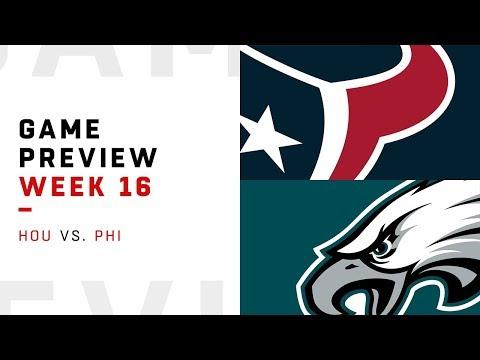 Houston Texans vs. Philadelphia Eagles | Week 16 Game Preview | Move the Sticks
