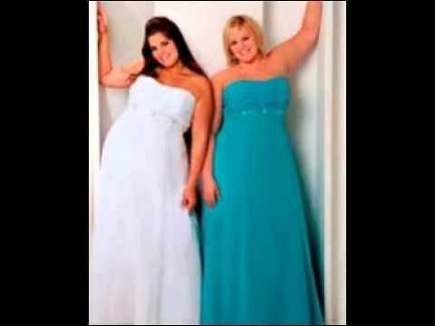 Plus Size Bridesmaid Dresses Youtube
