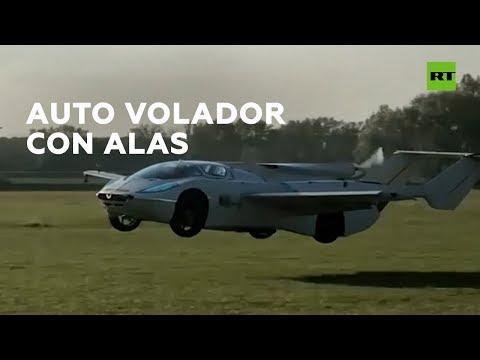 La Gitana - CONOCE EL AUTO VOLADOR, CREADO PARA LOS AVENTUREROS...