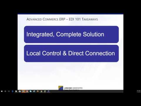 Lunch and Learn with Lanham - Seamlessly Simple EDI