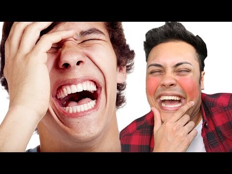 REACTING TO CONTAGIOUS LAUGHTER VIDEOS