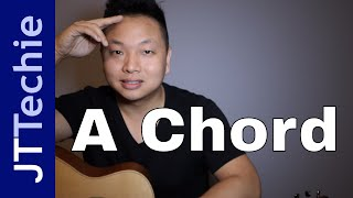 How to Play the A Chord on Acoustic Guitar | A Major Chord on Guitar