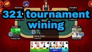 Teen patti  321  tournament  winning screenshot 1