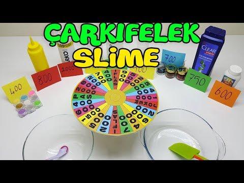 Çarkıfelek Slime Challenge - En Güzel Slime Yarışması