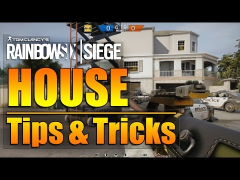 Rainbow Six Siege - In Depth: HOUSE Map Tips & Tricks