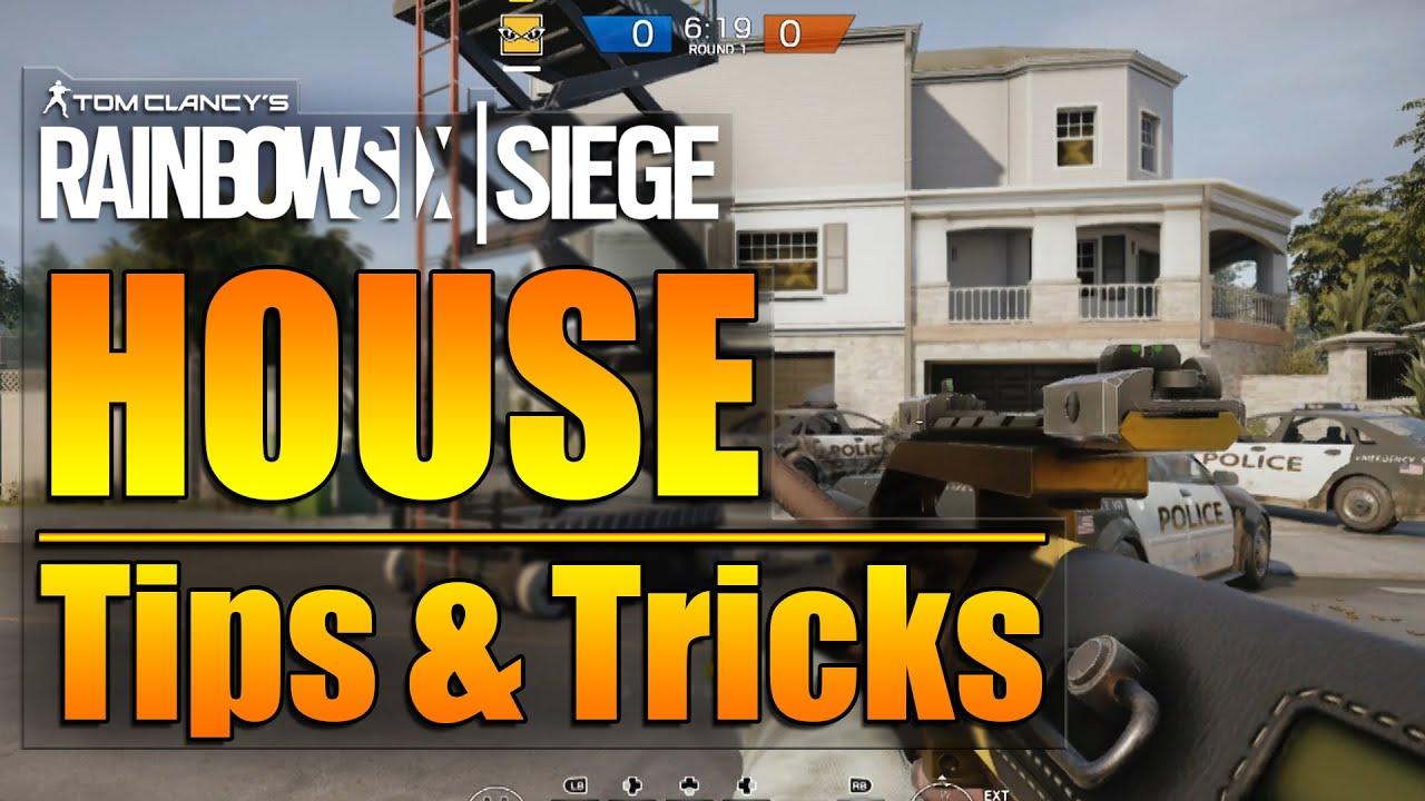 rainbow six siege in depth house map tips tricks youtube