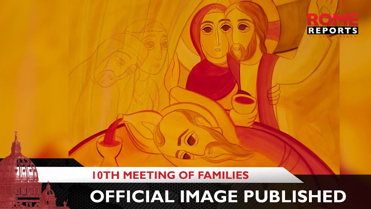 Official image for the 10th World Meeting of Families published