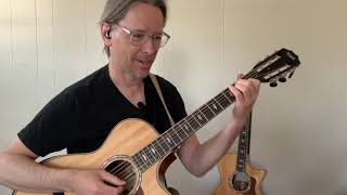 """How to play """"Time/Breathe reprise"""" by Pink Floyd (acoustic guitar lesson)"""