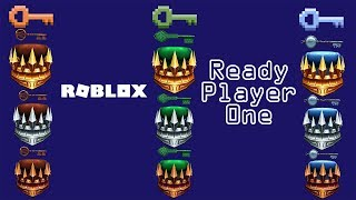Roblox - Ready Player One (Solved Clues for the Copper, Jade and Crystal Crown Keys)