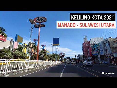 Jalan - Jalan Keliling Kota Manado 2021, Kota Terbesar serta ibukota Provinsi di Sulawesi Utara