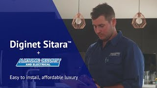 Diginet Sitara Easy to install, affordable luxury – Chris Lynn and Alltronic Security & Electrical