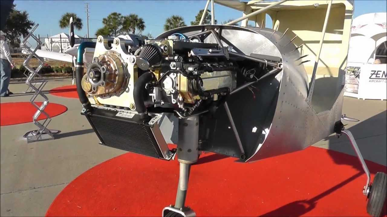 Viking Honda auto conversion engine on the Zenith STOL CH 750