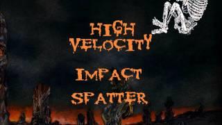 Cannibal Corpse - High Velocity Impact Spatter (Lyrics Video)