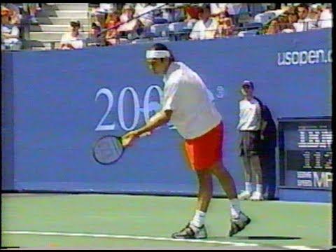 Federer Vs Agassi US Open 2001