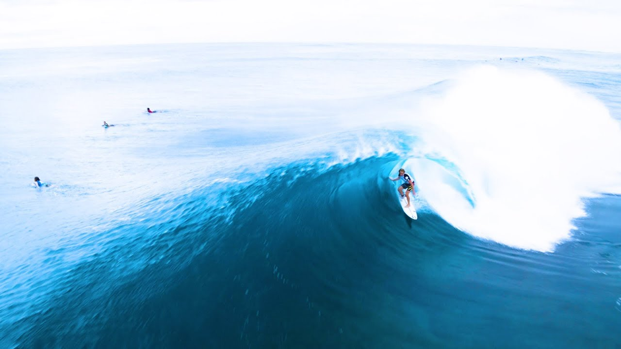 Volcom Pipe Pro 2018 Drone View