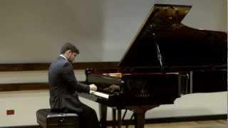Fantasía sobre Luna Liberiana - Vinicio Meza / Jorge Briceño G., Piano.