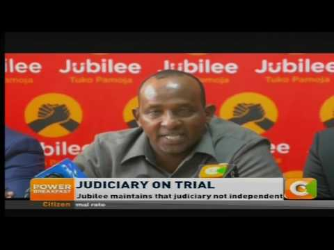 Power Breakfast: Judiciary on trial