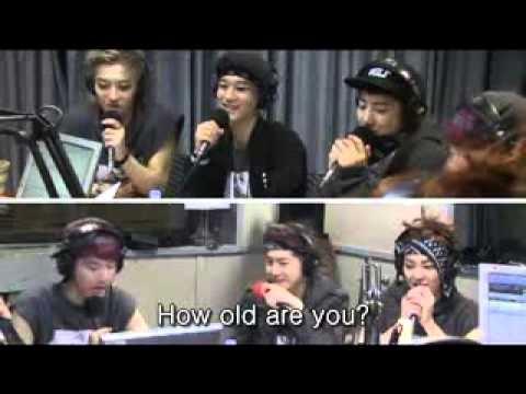 EXO at Youngstreet doing a