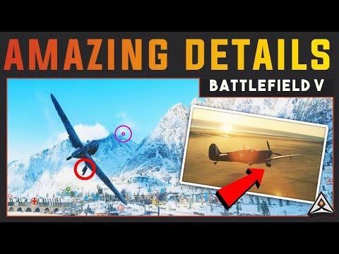 Incredible Details in Battlefield V (BF5)