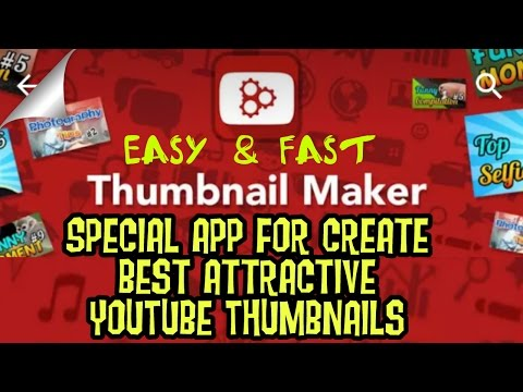 Best and Easy YT thumbnail Maker App - YouTube