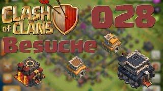 """COC [Besuche #028] """"Wochenende = Besuchszeit""""   Let's Play Clash of Clans [DEUTSCH]"""
