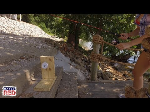 How To Make Your Own Fishing Line Spooler