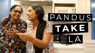 VLOG! My Parents come to LA | Deepica Mutyala