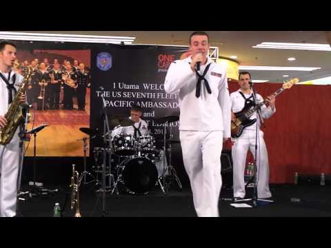 The US Navy Seventh Fleet Band