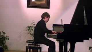 J.S.Bach Inwencja 2-gł.B-dur nr 14