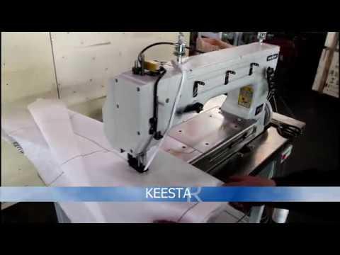 KEESTAR BaffleSew53 Baffle Bag Attaching Sewing Machine