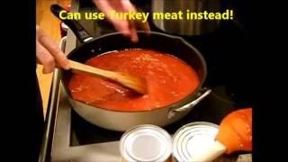 Freezer Meal #1 - Spaghetti & Meatballs