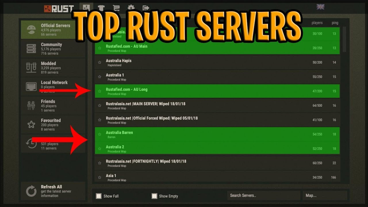 Rust Experimental Cracked Servers 2019