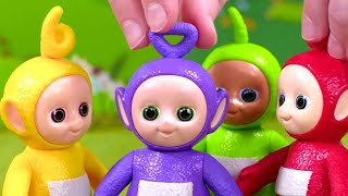 Teletubbies: Tinky Winky Is Cold | Toy Play |  Videos for Kids