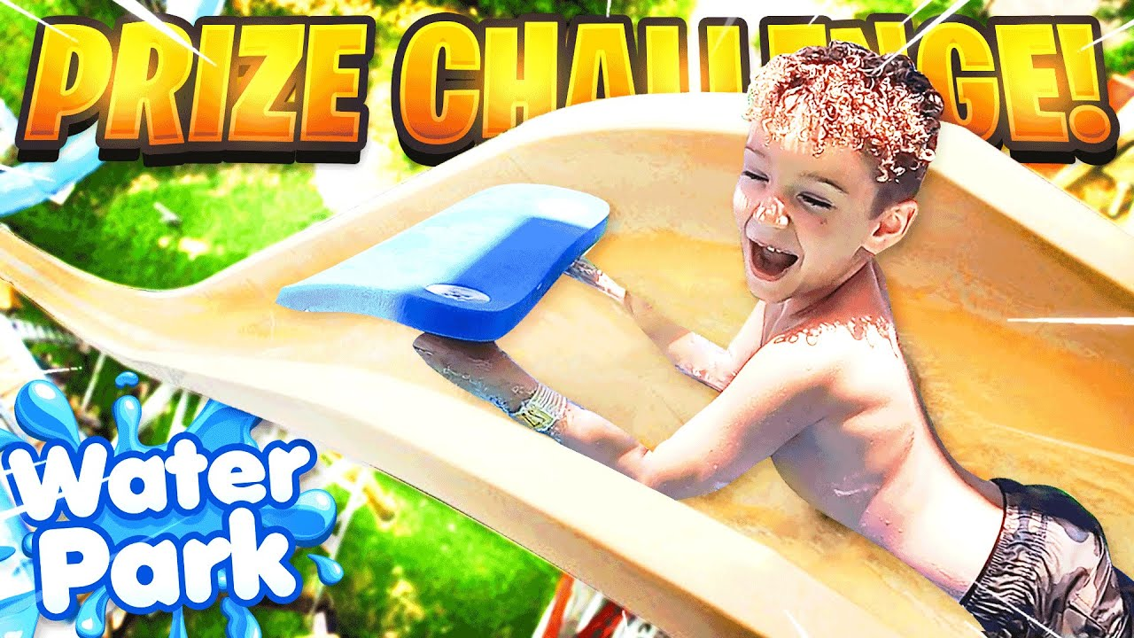 LAST TO LEAVE WATERPARK WINS PRIZE (CHALLENGE)