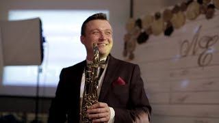 Сюрприз от ведущего на свадьбе. Ведущий саксофонист Сергей Рябинин.
