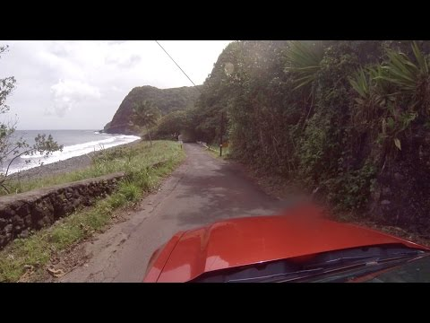 "Hawaii - Driving Maui - ""Road to Hana"" in 30min"