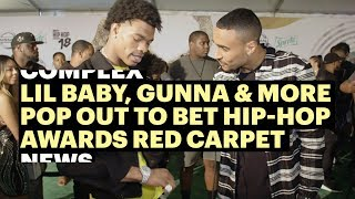 Lil Baby, Gunna & More Pop Out To BET Hip-Hop Awards