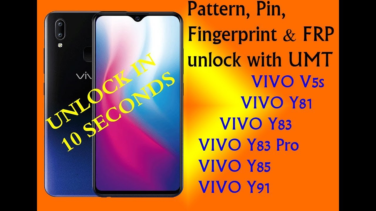 VIVO Y91 FRP with UMT box in just one click