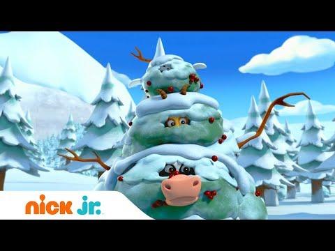 Щенячий патруль | Снежный монстр | Nick Jr. Россия