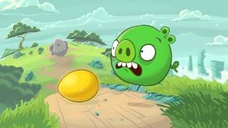 Angry Birds Cartoon - Golden Eggs Hunt