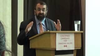 Robert Spencer in Alberta on the roots of ISIS and Islamic anti-Semitism -  April 29th 2016