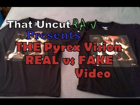 THE Pyrex Vision Real Vs Fake/Replica Video (READ THE DESCRIPTION)