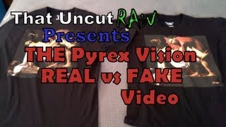 THE Pyrex Vision Real vs Fake Video : Comparison of Authentic and Fake Pyrex Vision Apparel
