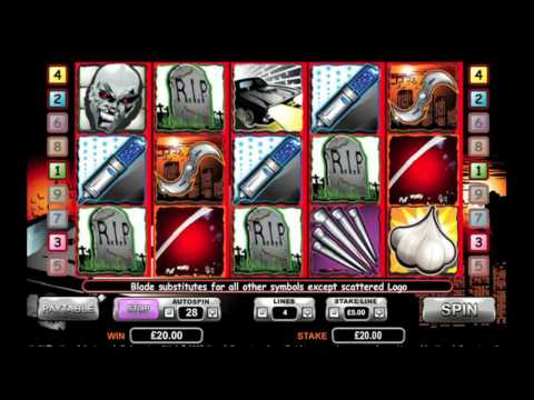 Blade slot game at Grosvenor Casinos Online