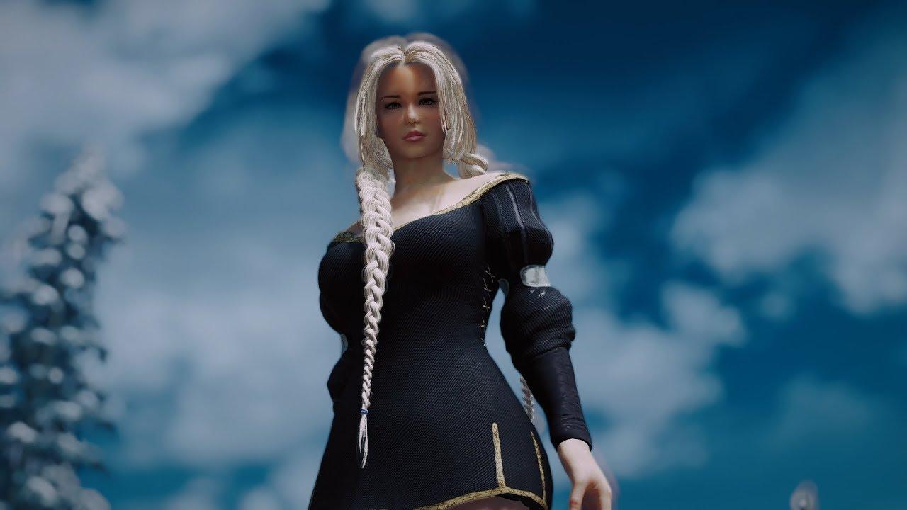 Skyrim: Yundao HDT Hair v2 7 | GamerHow | Gamers walkthrough and Tips