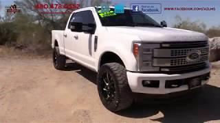 2017 Ford F- 350 Crew Cab Platinum 4WD TurboDiesel Truck - Luxury Motorsports (15215)