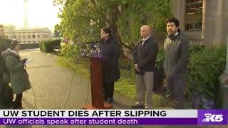 UW speaks after student death